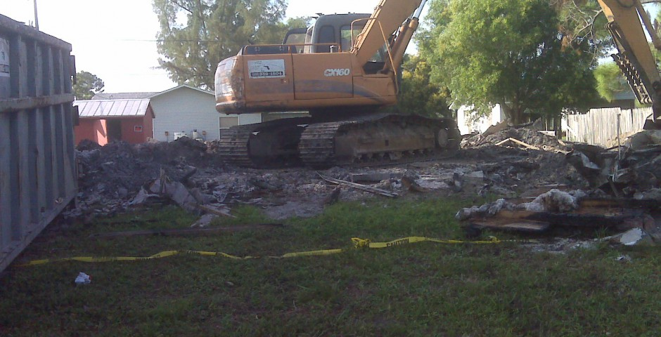 Collier County House Demoltion