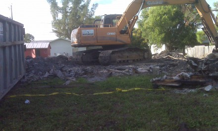 Collier County House Demolition